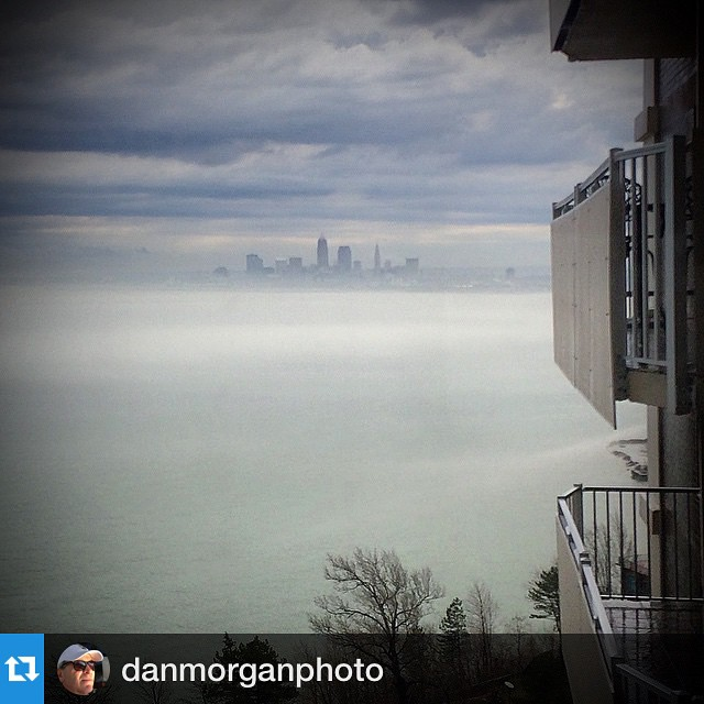 Repost danmorganphoto with repostappClevelandPride LakewoodPride is that green down there?hellip