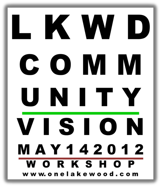 Lakewood Community Vision Follow-up Meetings Scheduled