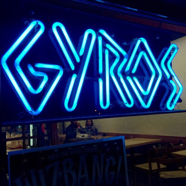 Late night Gyro