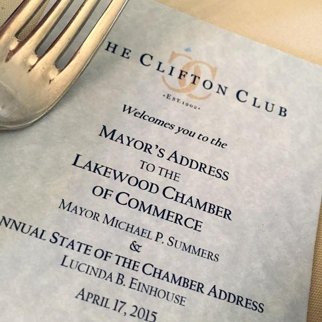 lccohio Luncheon with LakewoodMayor Summers
