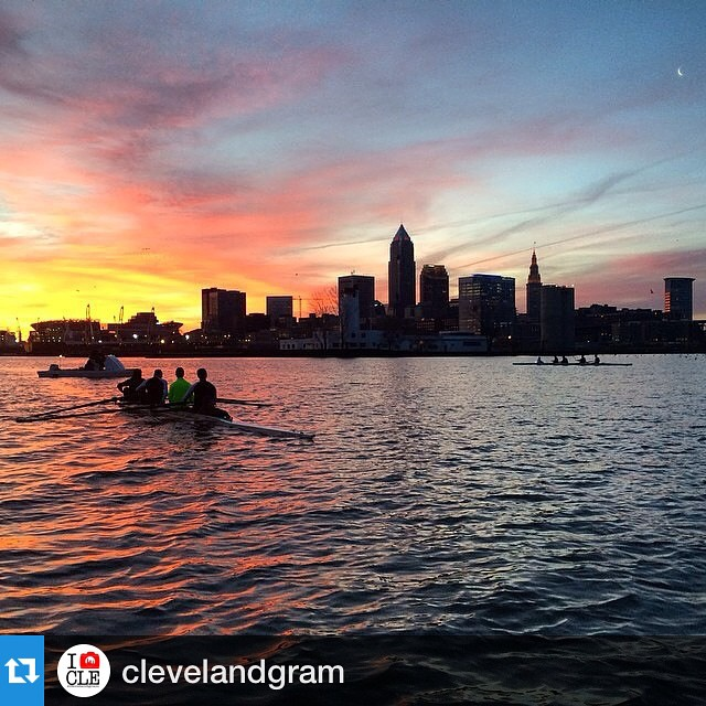 Beautiful shot Repost clevelandgram with repostapp Clevelandgram Feature  Rowinghellip