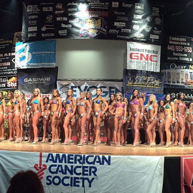 2015 NPC Natural Bodybuilding Contest is underway