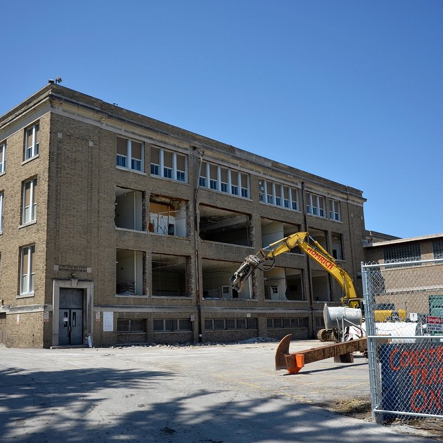 Lakewood High School Demolition Progress