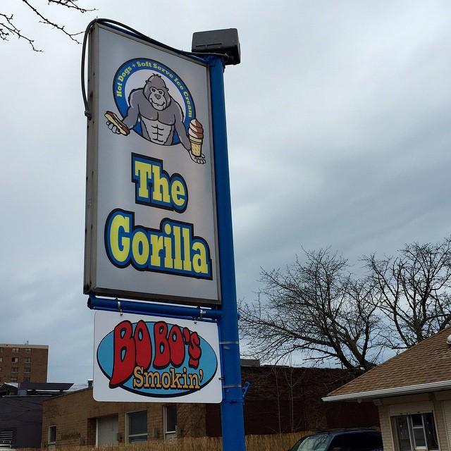 Signs point to Gorilla in Birdtown amp Bobos Smokin 12102hellip