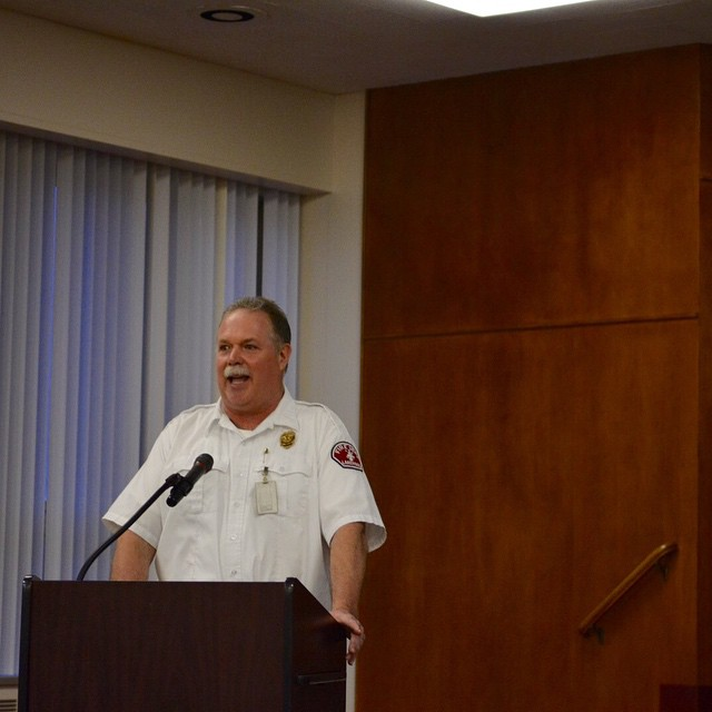 LakewoodFire Chief Scott Gilman talks PreHospital EMS at Lakewood Hospitalhellip