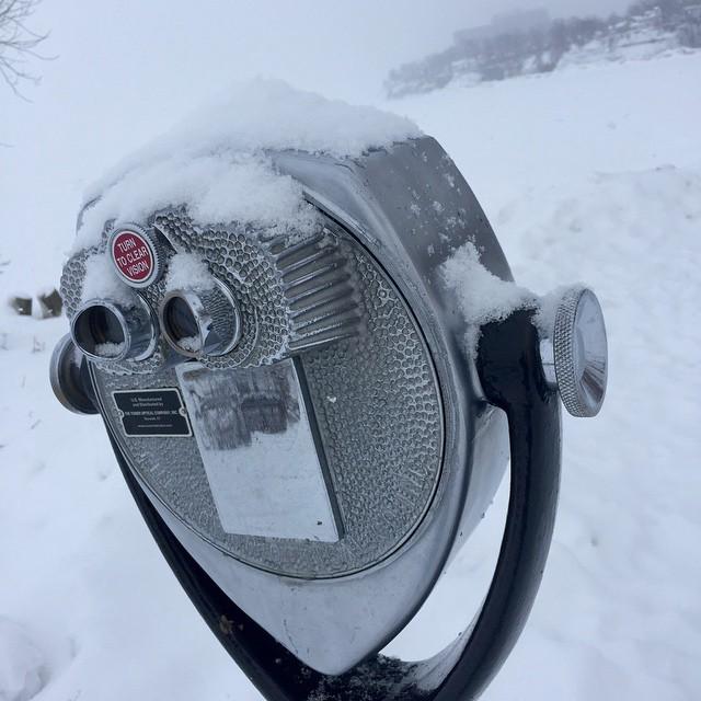 Snow vision at Lakewood Park