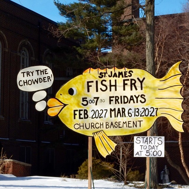 Best Fish Fry Sign Ever? St James LkwdFishFry