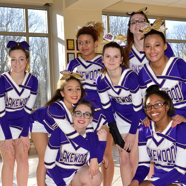 Lakewood Cheerleaders ready to go GoRangers BeatEds