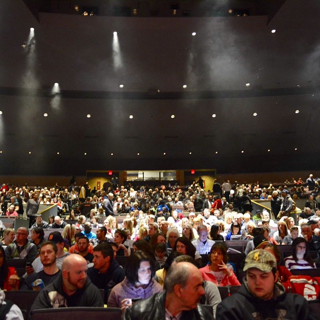 Lakewood Civic Auditorium is packed for the 2015 NPC Naturalhellip
