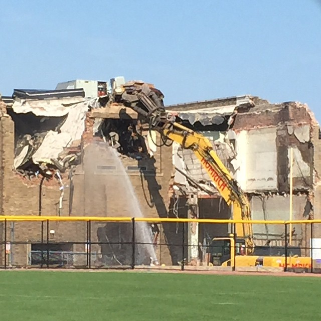 LkwdLHS Demolition Progress