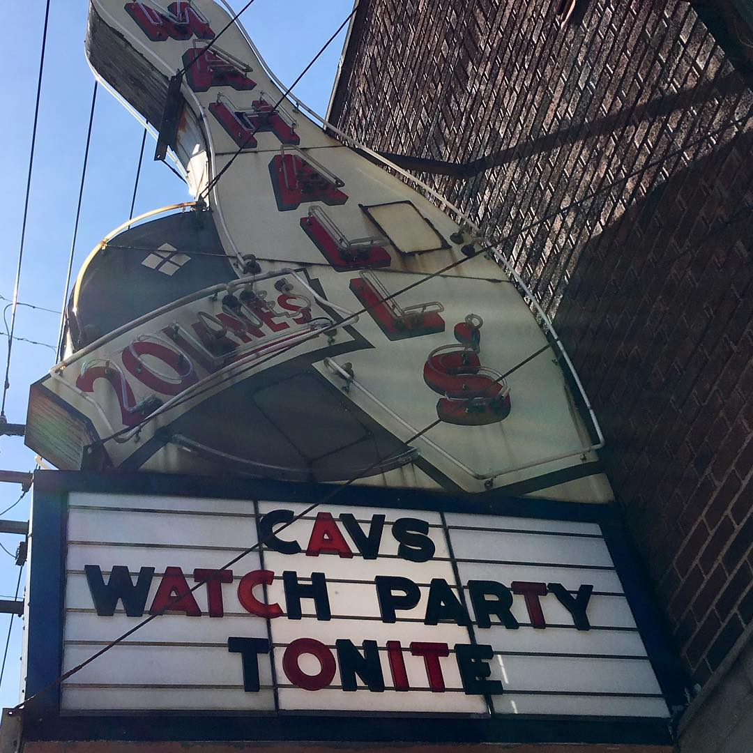 Cavs Watch Party at mahalls20lanes tipoff at 830 beattheceltics sprinklesareforwinnershellip