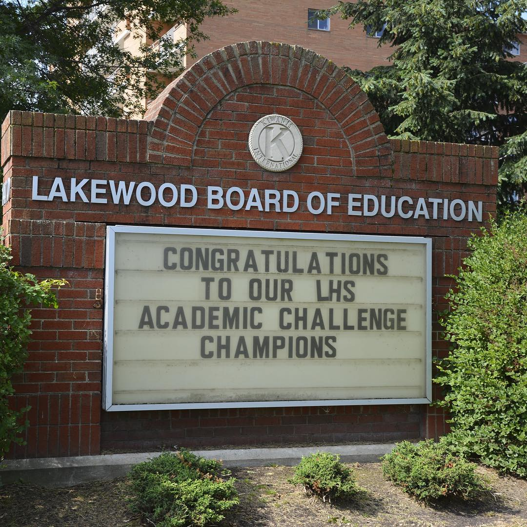 Congratulations! Lakewood High School is Academic Challenge Champion! rangerpride httplkwdcit2sAIrKR