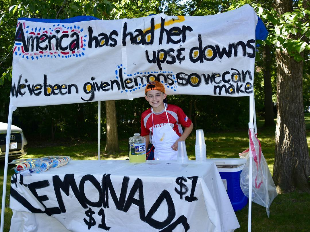 Lemonade! Lakewood 4th of July Parade Sales benefit St Judeshellip