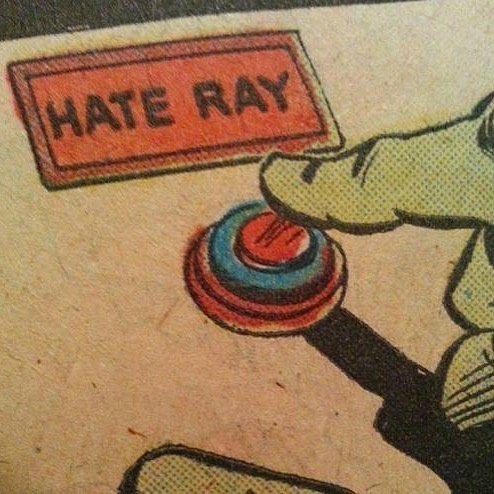 STOP THE HATE RAY!