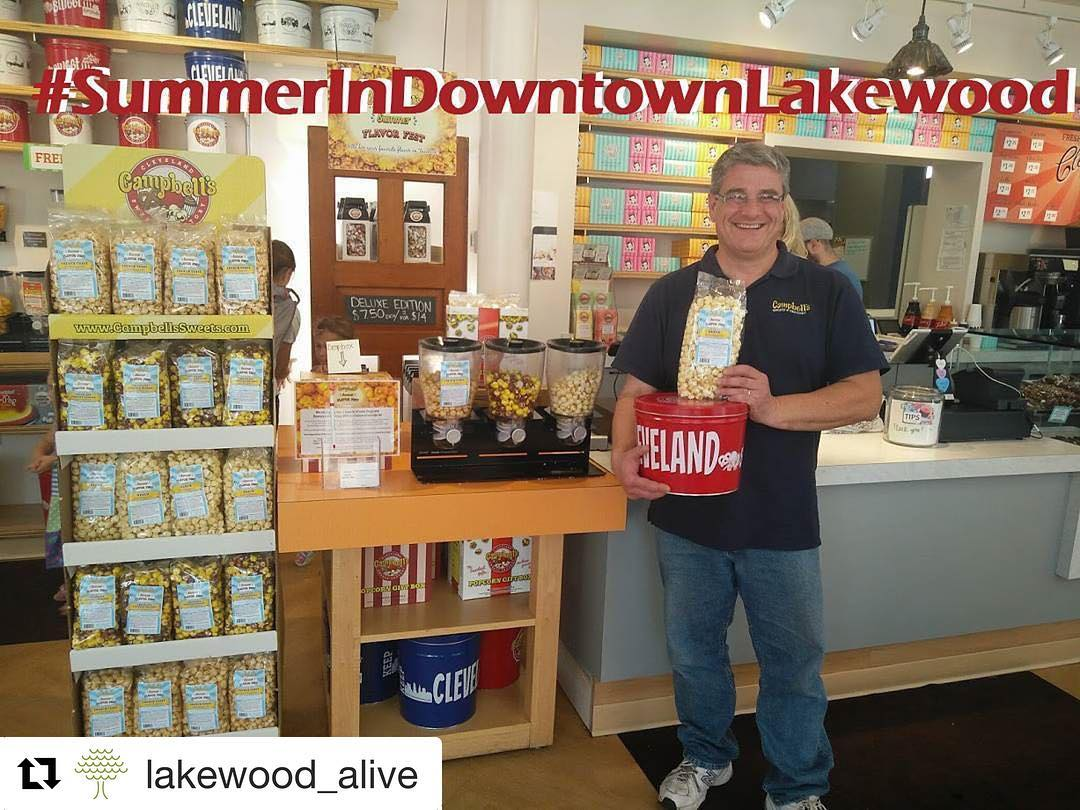 Repost lakewoodalive  Celebrate SummerInDowntownLakewood at unique stores like campbellssweetshellip