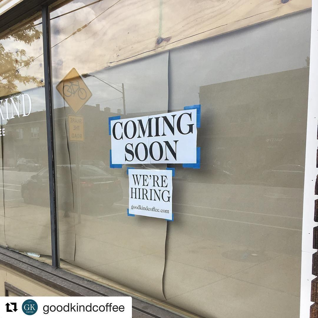 Repost goodkindcoffee  The signs dont lie! The buildout ishellip