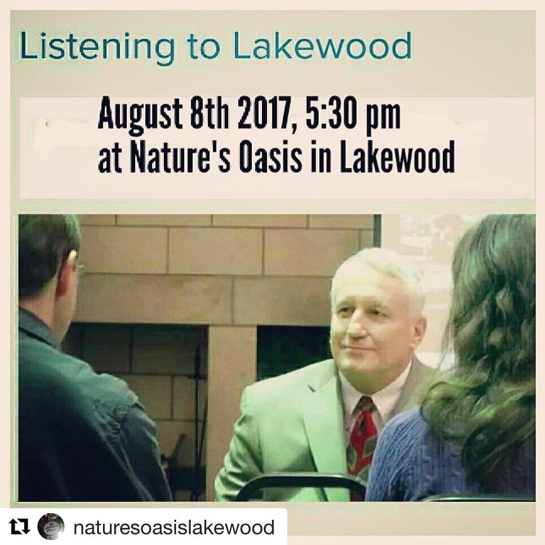 Repost naturesoasislakewood  Tonight at 530 pm we are hostinghellip