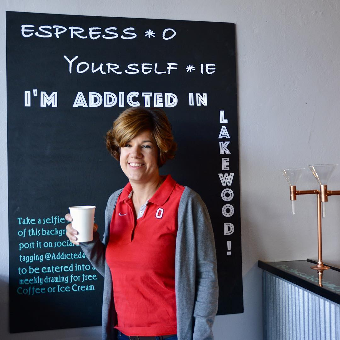 Great coffee  and great ice cream at addicted44107 inhellip