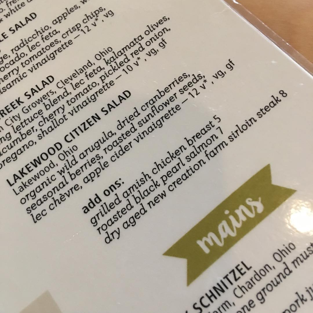 Lakewood Citizen Salad add steak for best results