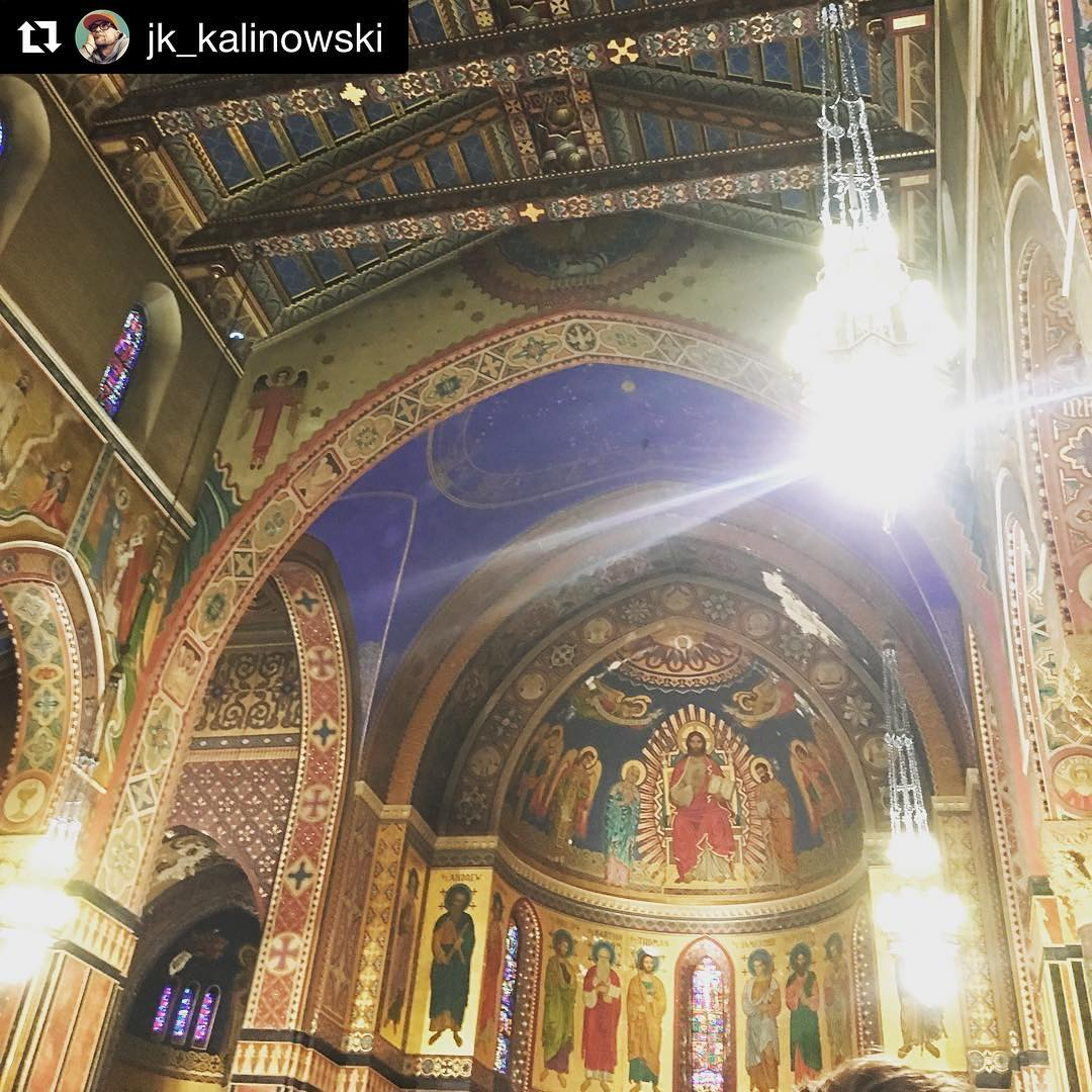 Repost jkkalinowski  Absolutely adore the art and architecture ofhellip