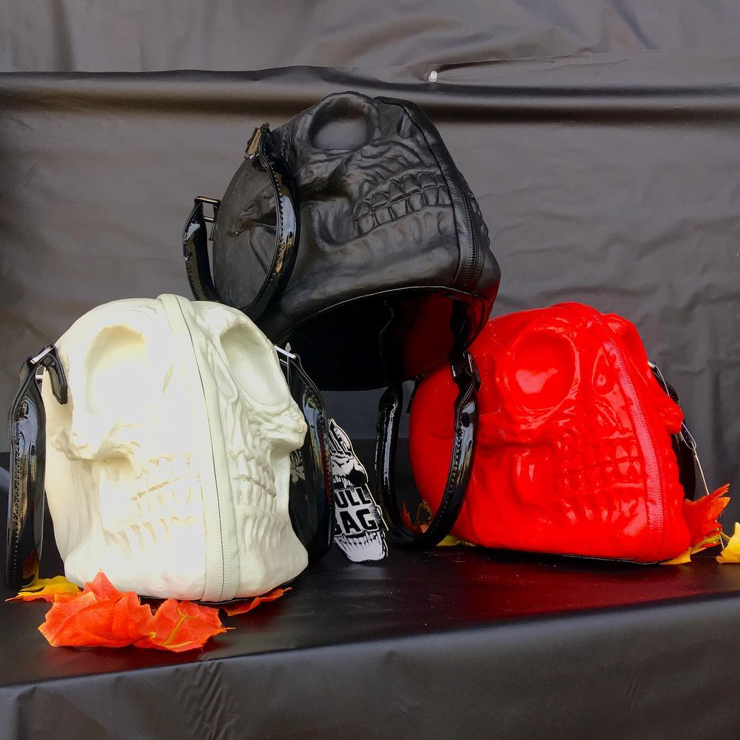 Accessorize your Halloween costume with a Skull Bag from themissionboutiquehellip