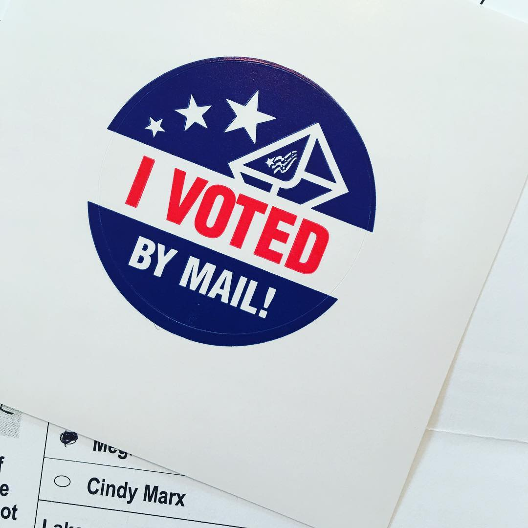 Vote By Mail  DONE Remember get your mail ballotshellip