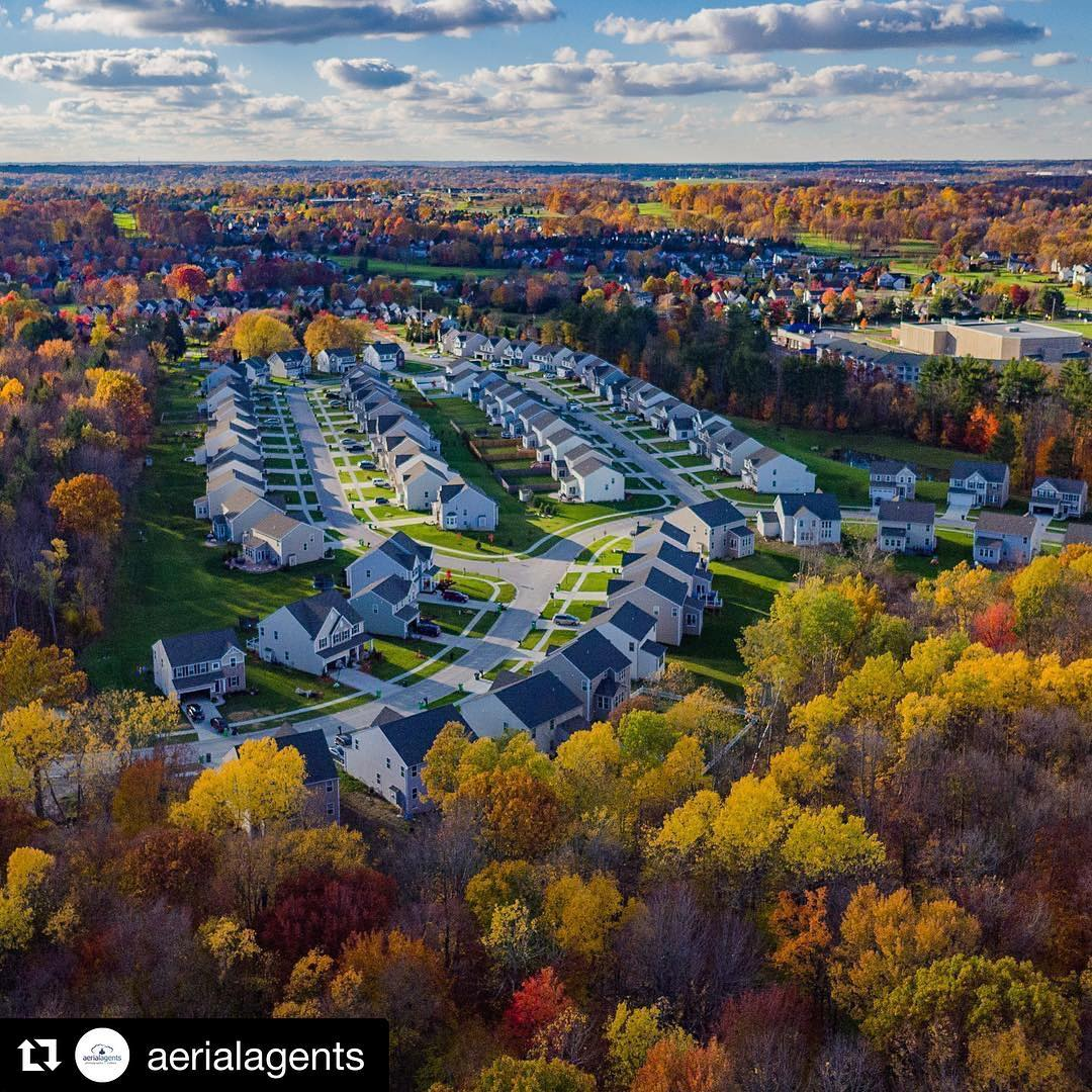 Repost aerialagents  This ryanhomes development in Twinsburg Ohio remindshellip