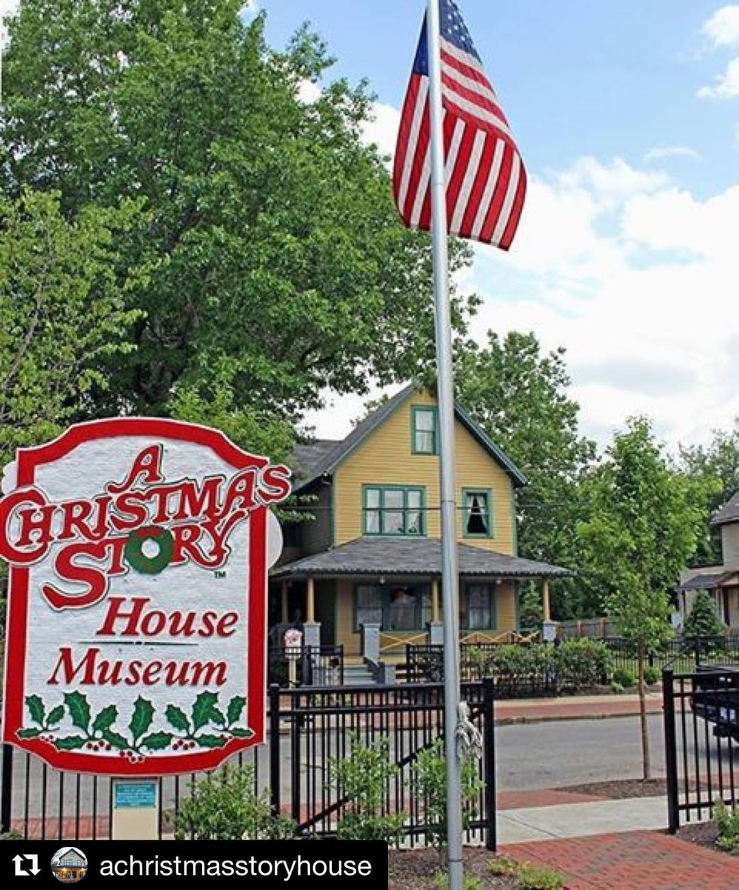 Repost achristmasstoryhouse  As a veteran owned business we takehellip