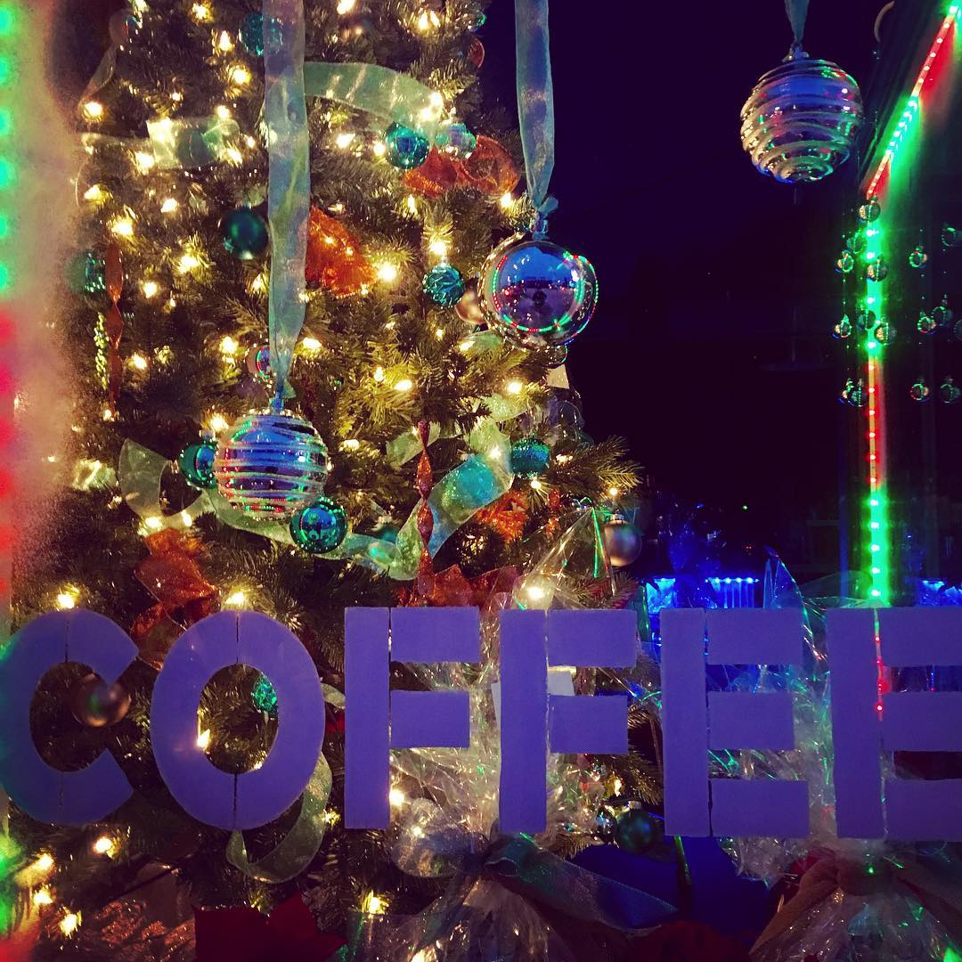 Christmas Coffee  at addicted44107 lakewood holidaysofinstagram