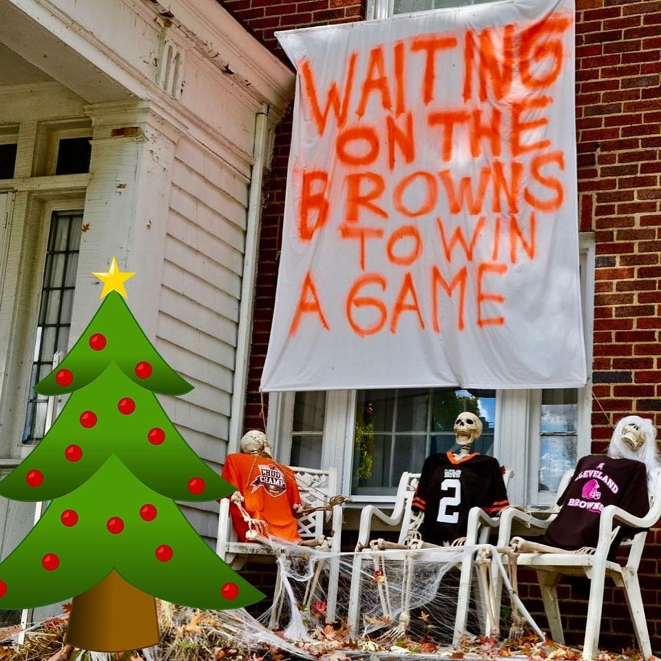 Christmas Eve win for the Browns today? christmasmiracle chicagobears vshellip